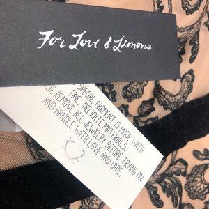 For Love And Lemons Dresses - For Love & Lemons Clemence Mini Dress